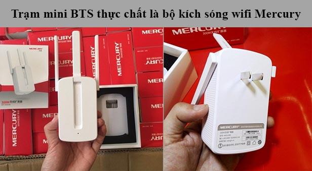 Trạm BTS mini theo dõi điện thoại không cần cài đặt
