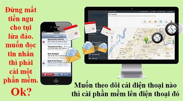Dịch vụ đọc tin nhắn zalo facebook viber sms lừa đảo