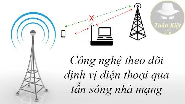Công nghệ theo dõi định vị qua tần sóng mạng telco lừa đảo