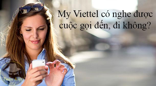 My Viettel có xem được nội dung tin nhắn không?