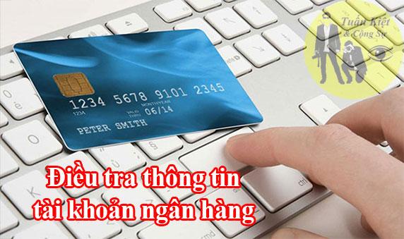 Tra cứu thông tin cá nhân qua số tài khoản ngân hàng