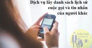 Tra cứu lịch sử cuộc gọi của người khác nhà mạng Mobifone, Viettel, Vinaphone