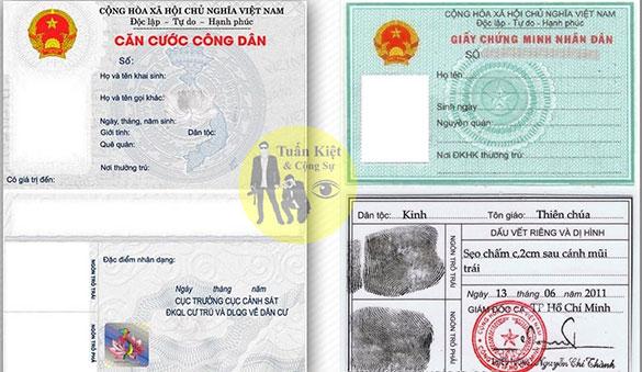 Cách lấy số CMND căn cước công dân của người khác